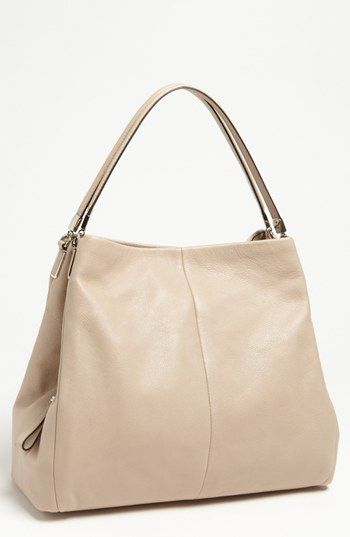 Coach Madison Phoebe Leather Shoulder Bag Available At Nordstrom