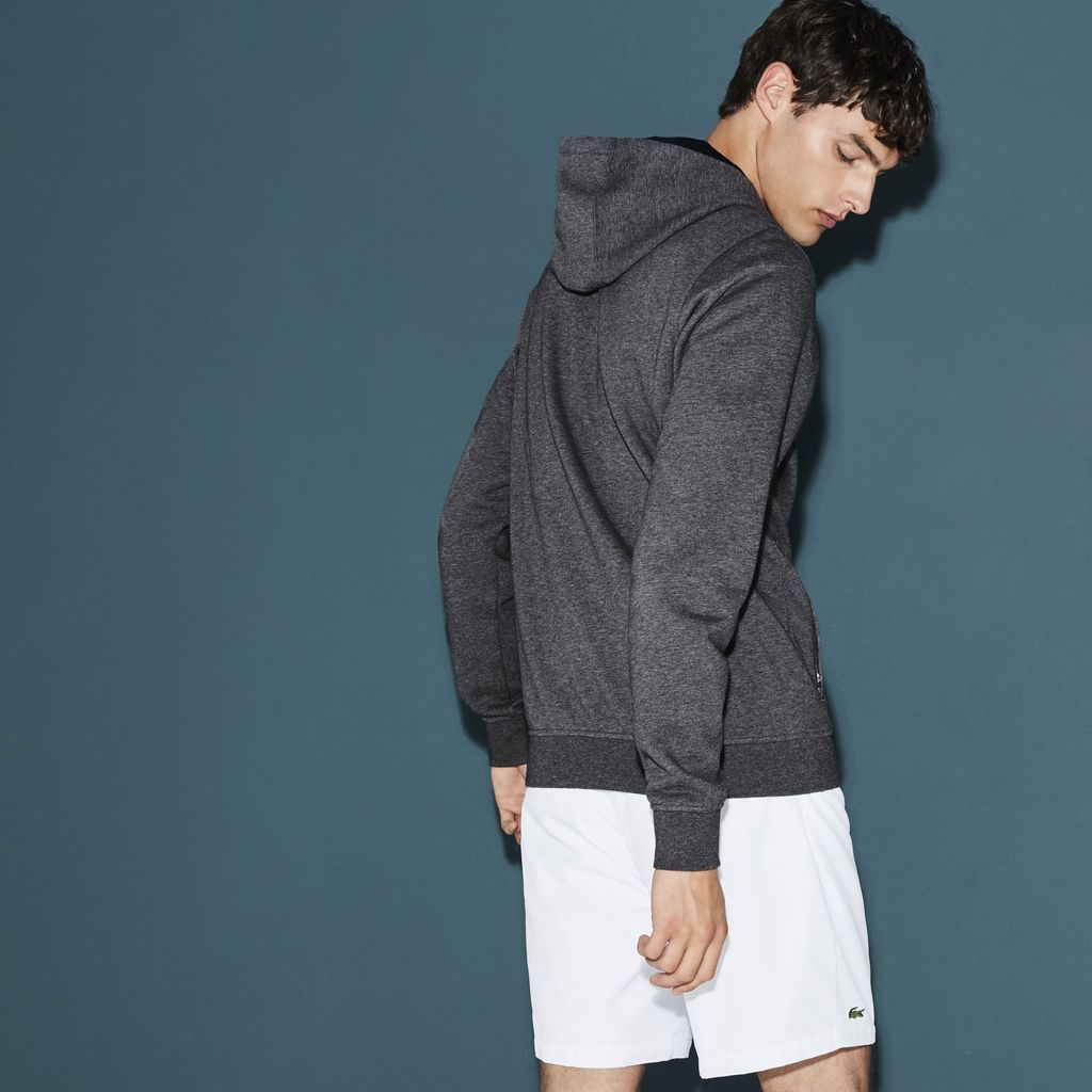 Crafted in ultra soft cotton fleece the menus tennis hoodie from