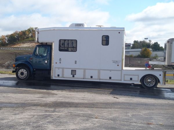 international 4900 toterhome trailer co for sale in pacific mo racingjunk classifieds. Black Bedroom Furniture Sets. Home Design Ideas