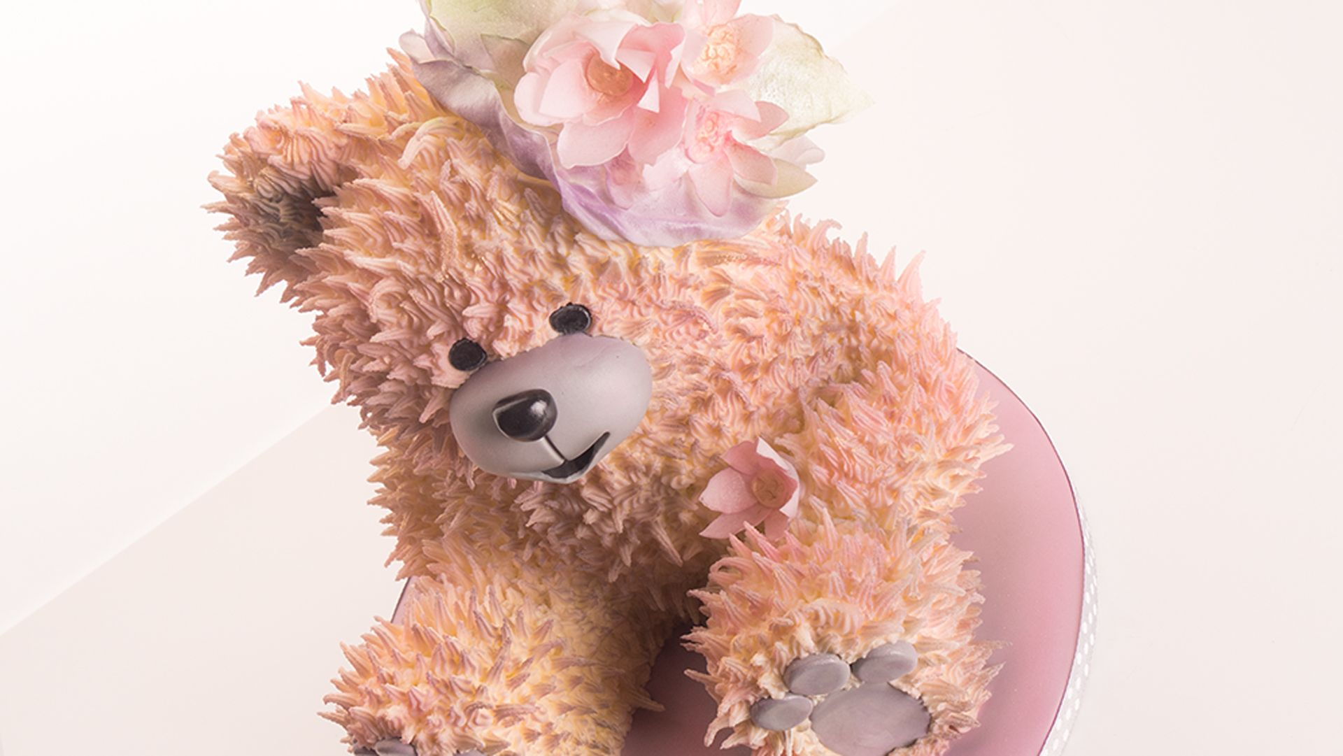 How to make a vintage teddy bear cake online cake