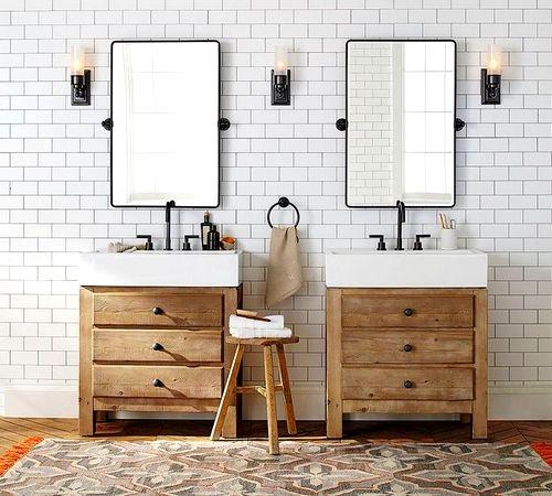 Drewniane Półki Do łazienki Siekierki W 2019 Pomysły Na