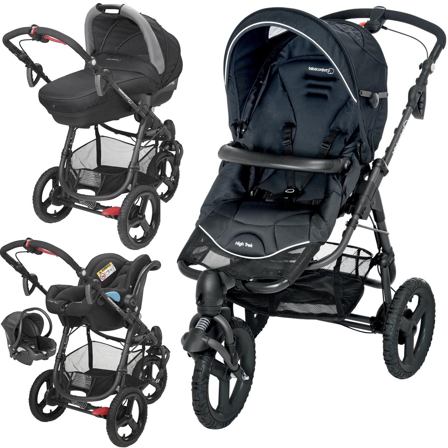 b b confort high trek baby equipment stroller. Black Bedroom Furniture Sets. Home Design Ideas