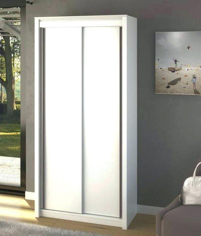 Armoire Faible Profondeur Meuble Penderie Porte Coulissante Lesdeuxfreres Chezzenon Room Divider Home Decor Room