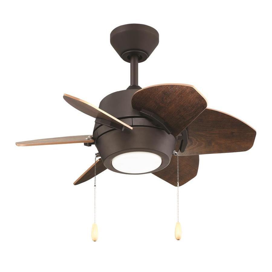 Litex Gaskin 24 In Bronze Indoor Ceiling Fan With Light Kit 6
