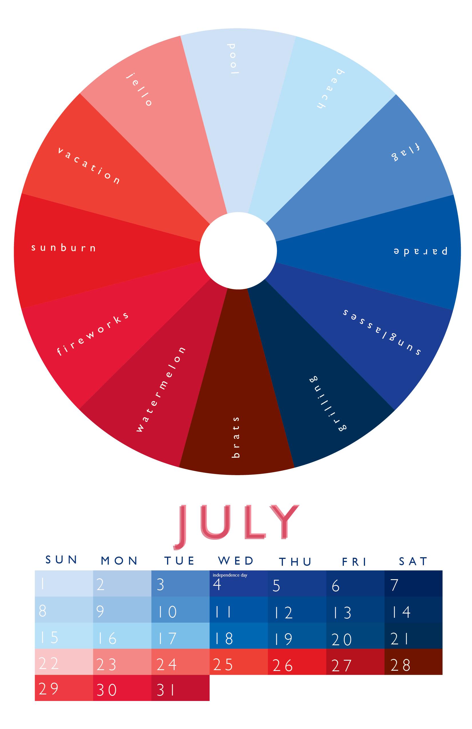 July graphic design info colour pinterest color wheels unique nvjuhfo Gallery
