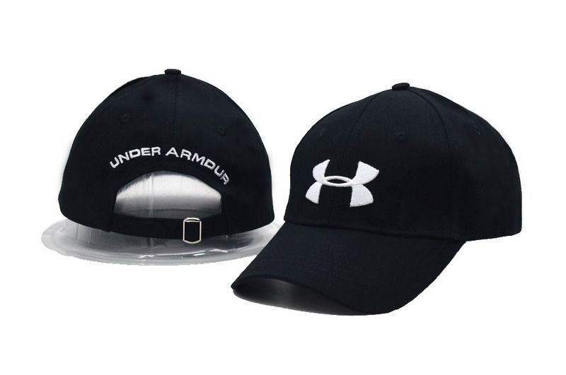 Men's / Women's Under Armour The UA 3D Logo Embroidery Trucker Dad Hat - Black / White