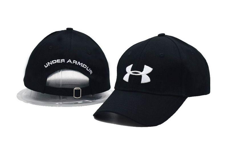bb4fd5e6339ea Men s   Women s Under Armour The UA 3D Logo Adjustable Dad Hat - Black    White