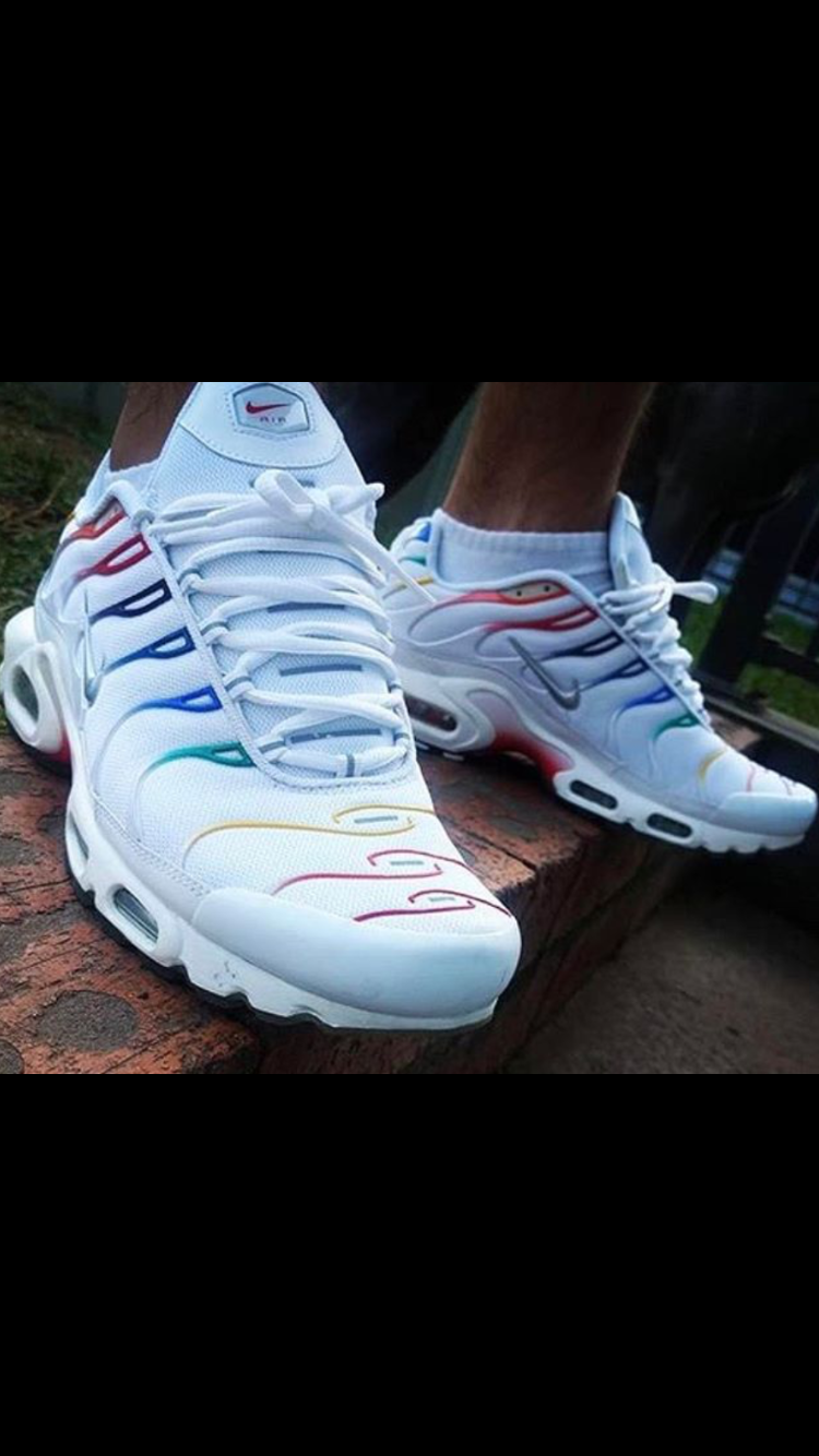 100% top quality exclusive shoes best price Nike Air Max Plus TN Rainbow 🌈 in 2019 | Nike air max plus ...
