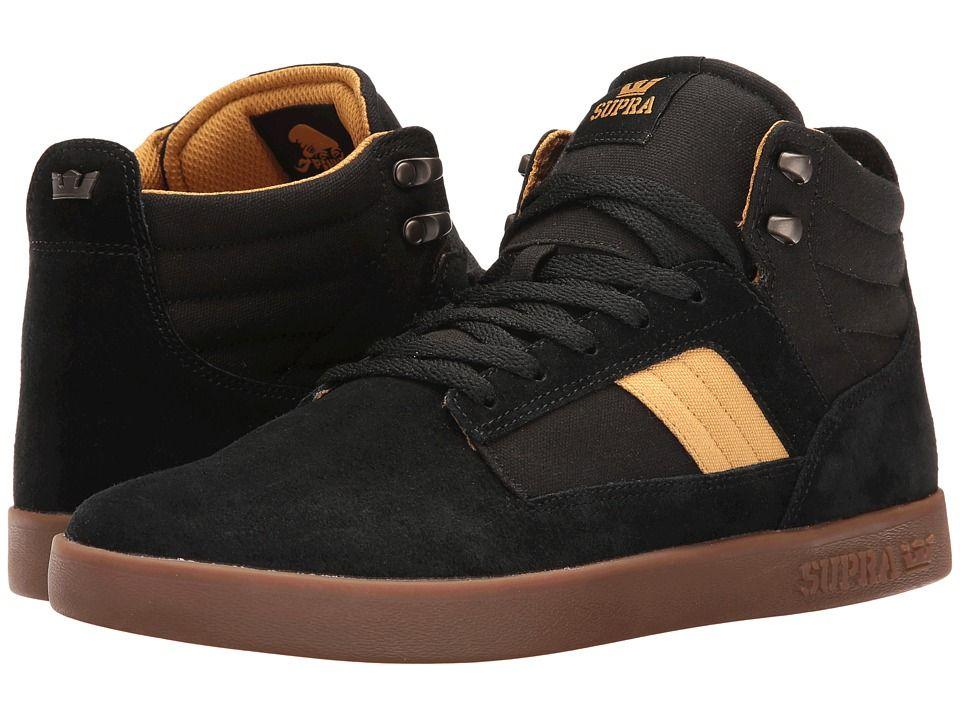 Skate shoes · SUPRA SUPRA - BANDIT (BLACK/AMBER GOLD/GUM) MEN'S ...