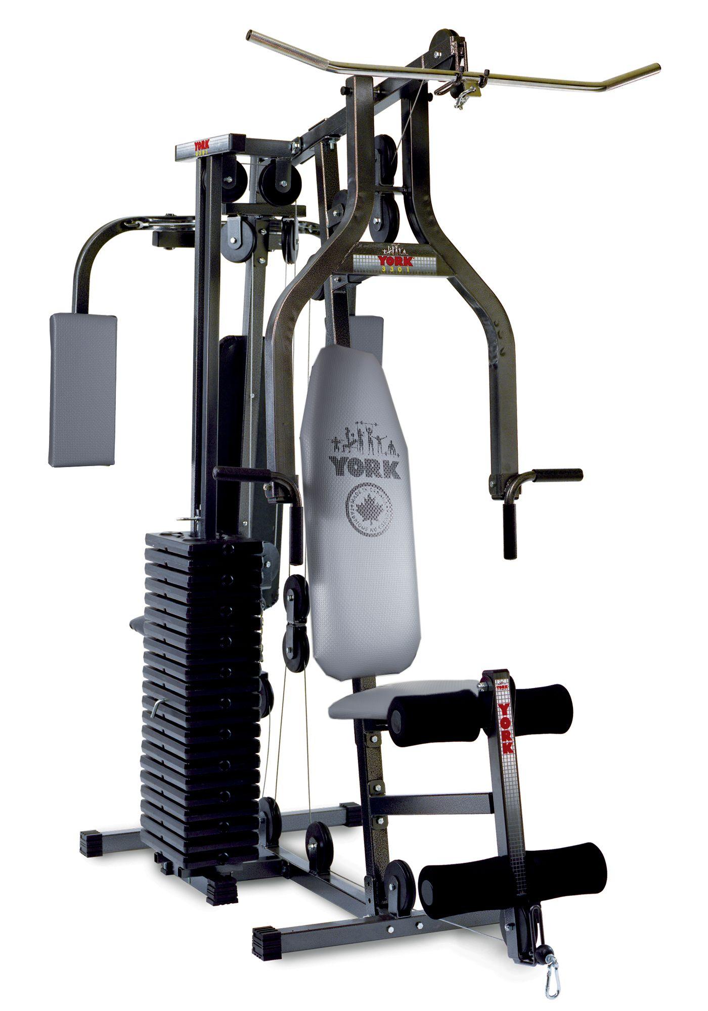 York 7240 Multi Gym Home Gym Equipment Machines York Barbell No Equipment Workout Multi Gym Home Multi Gym