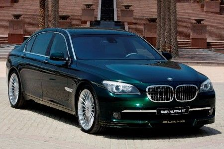 BMW Alpina B7 green For Vans, because she's a brat