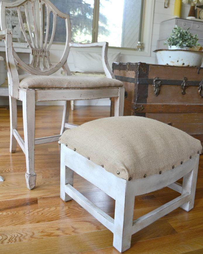 diy furniture makeover full tutorial. Rustic DIY Ottoman Makeover Diy Furniture Full Tutorial O
