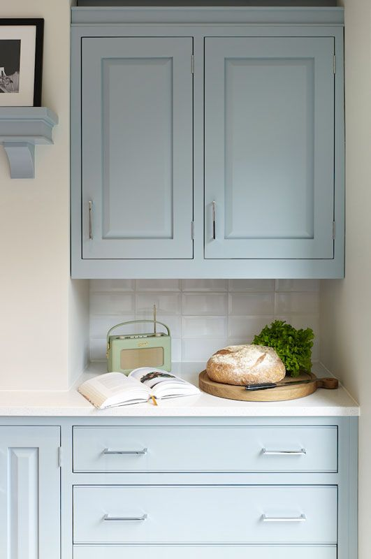 i would like blue in my kitchen if it were this shade with images kitchen cabinets decor on kitchen cabinets blue id=65367