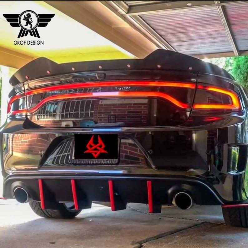 Dodge Charger Srt Hellcat Daytona Wicker Bill Add On Spoiler Etsy Charger Srt Dodge Charger Dodge Charger Hellcat