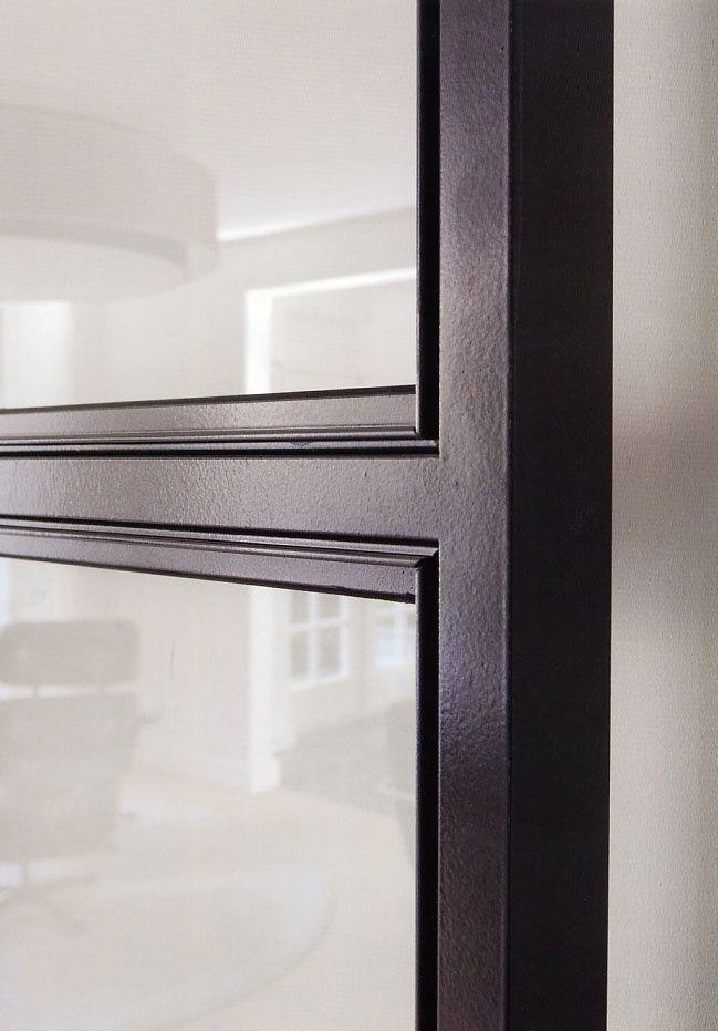 Steel Interior Window Frame Detail Shady In 2019 Steel