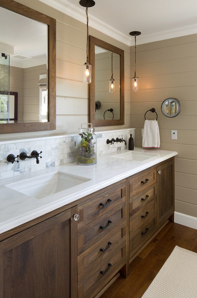 Beadboard Bathroom Vanity Bathroom Traditional With Master - Apron sink bathroom vanity for bathroom decor ideas