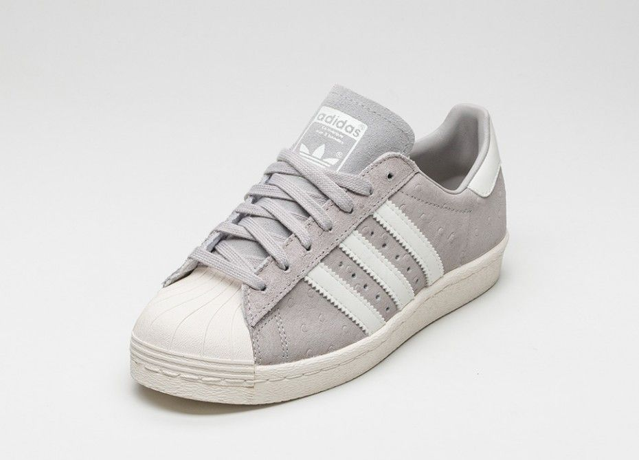 best authentic 9c225 3a0d2 Adidas superstar Grey Suede | sneakers | Superstars schuhe ...