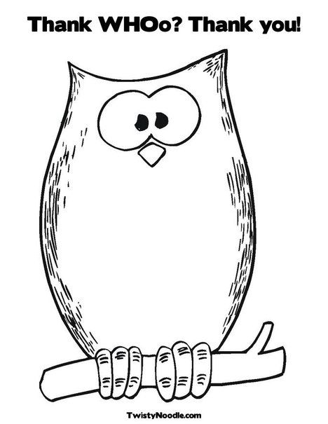 thank you coloring sheet for the kids to color when we send out thank yous - Thank You Coloring Pages