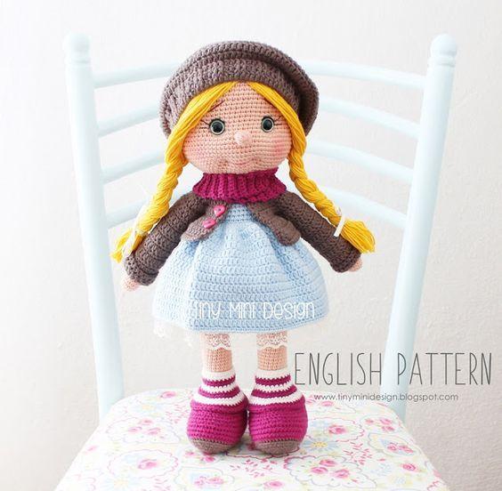 Amigurumi Tonton Doll-Free Pattern (Amigurumi Free Patterns) | Puppen