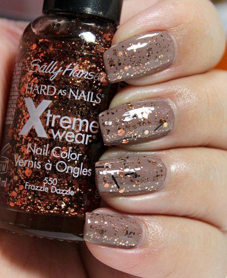 Bronze Copper Glitter Nail Polish Google Search
