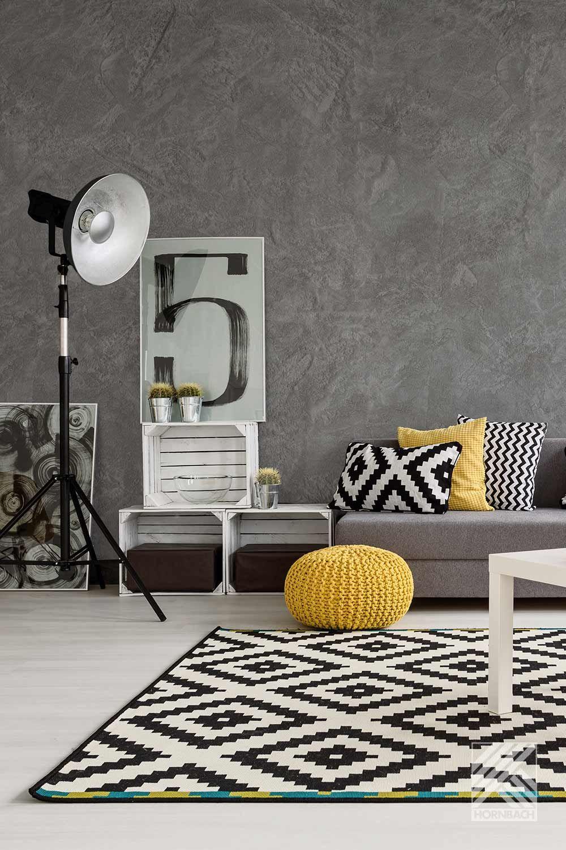 Wände Gestalten Mit Effektfarbe Effektfarbe Wand Verputzen Putz