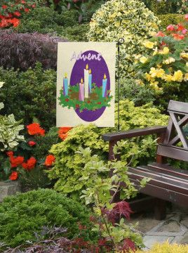 garden banners. Hosanna Home \u0026 Garden Advent Banner Hosannahomeandgarden.com Banners