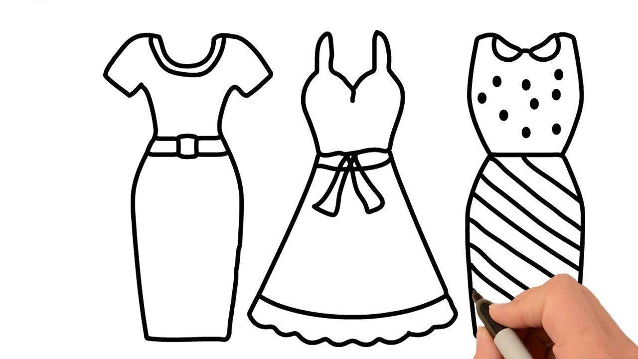 Tổng hợp các bức tranh tô màu váy công chúa đẹp nhất cho bé trong 2020 |  Hình ảnh, Công chúa, Búp bê