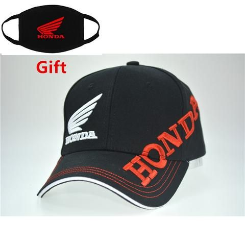 289c66b26d2cd Mask as Gift Moto GP honda racing team baseball cap motorcycle men women  adjustable embroidered hip