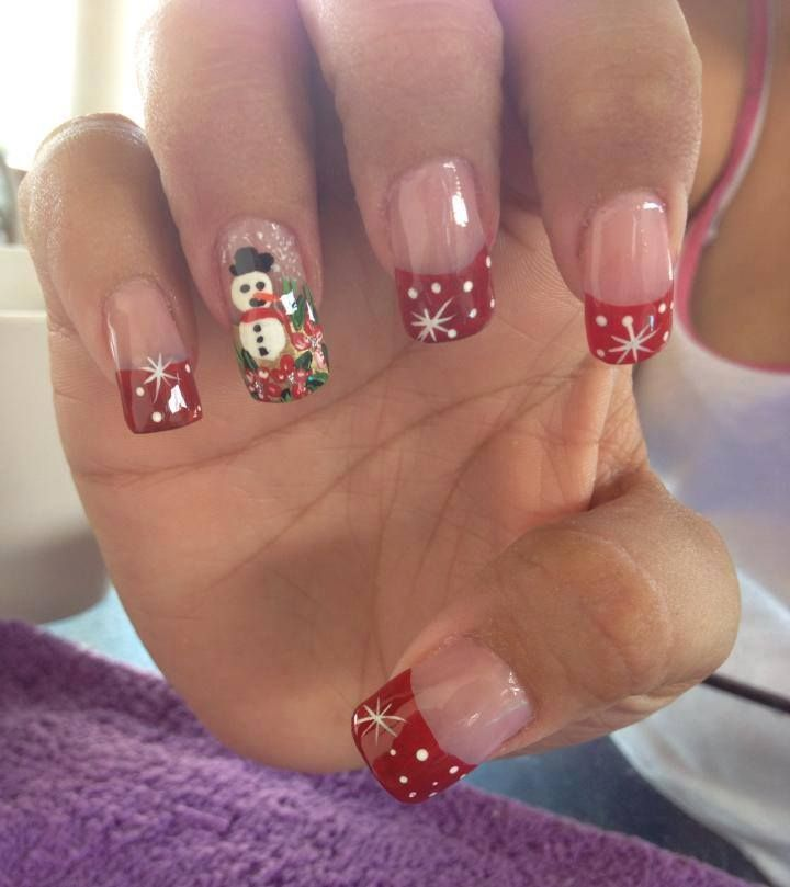 Unas Navidenas Nails Unas Navidenas Unas Navidad Unas