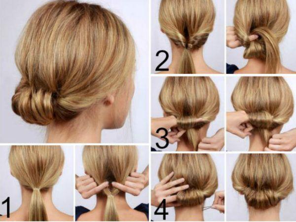 los 20 peinados ms fciles y rpidos para estar perfecta tendenziascom - Peinados Bajos