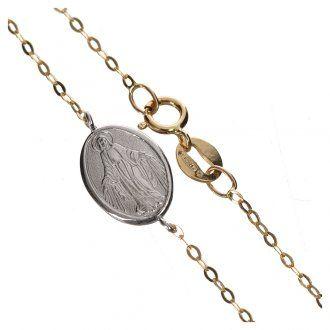 280befd95eb6 Pulsera de Oro 750 00 con Medalla Milagrosa - gr. 1