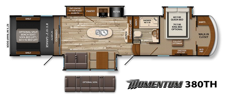Momentum Fifth Wheel Floor Plans Grand Design Rv Grand Design Rv Floor Plans Rv Floor Plans