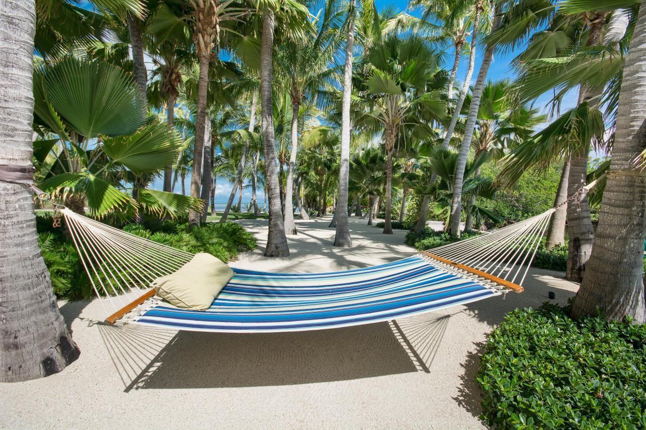 tour a tropical style estate in islamorada fla backyard