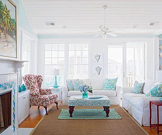 33 Living Room Color Schemes For A Cozy Livable Space Living Room Decor Colors Living Room Turquoise Coastal Decorating Living Room