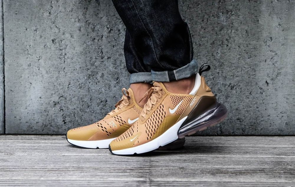best loved 1781c 75098 NIKE AIR MAX 270  GOLD LIMITED EDITION  AH8050-700 DS TRAINERS