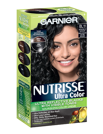 I Love This Dye Makes Your Hair Super Shiny Blue Black Swear By Ultra Color Bl11 Reflective Jet