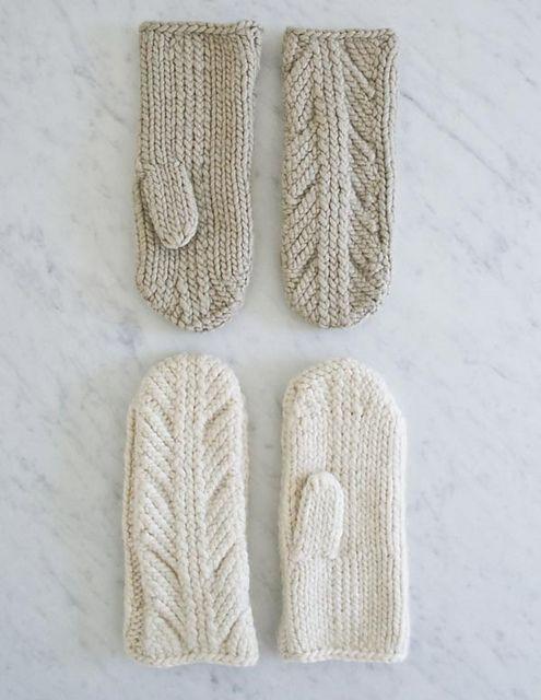 Ancient Stitch Mittens – a free knitting pattern... | Stitchery ...
