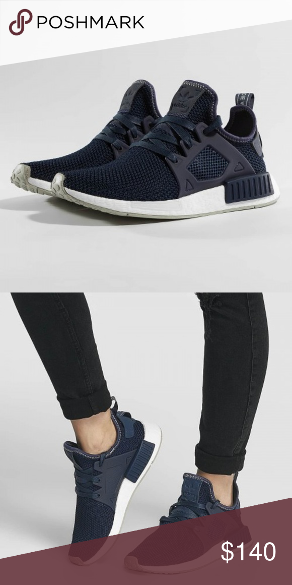 7a6246bae142c Adidas NMD XR1 Navy Blue Women s 8.5 New with box adidas NMD XR1 sneakers  in size 8.5 (Women s). Product  BY9819. Authentic. Runs big. adidas Shoes  Athletic ...