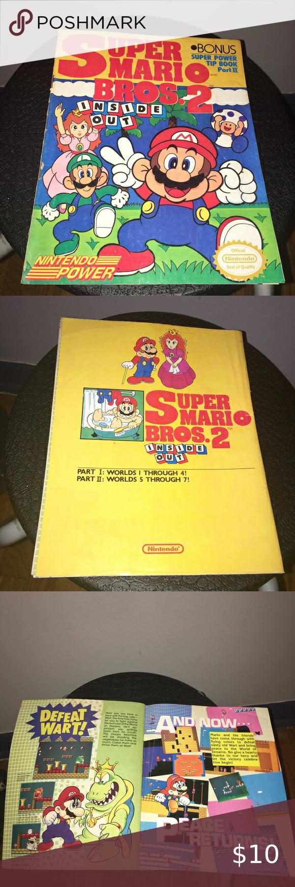 Super Mario Bro S 2 Magazine In 2020 Super Mario Mario Super Mario Bros