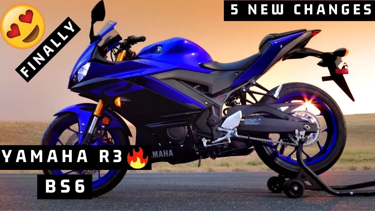 2020 Yamaha R3 Bs6 New Model Launch In India Price New