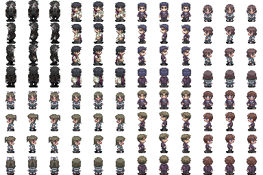Corpse Party Sprites  VX/Ace  | Corpse Party | Corpse party