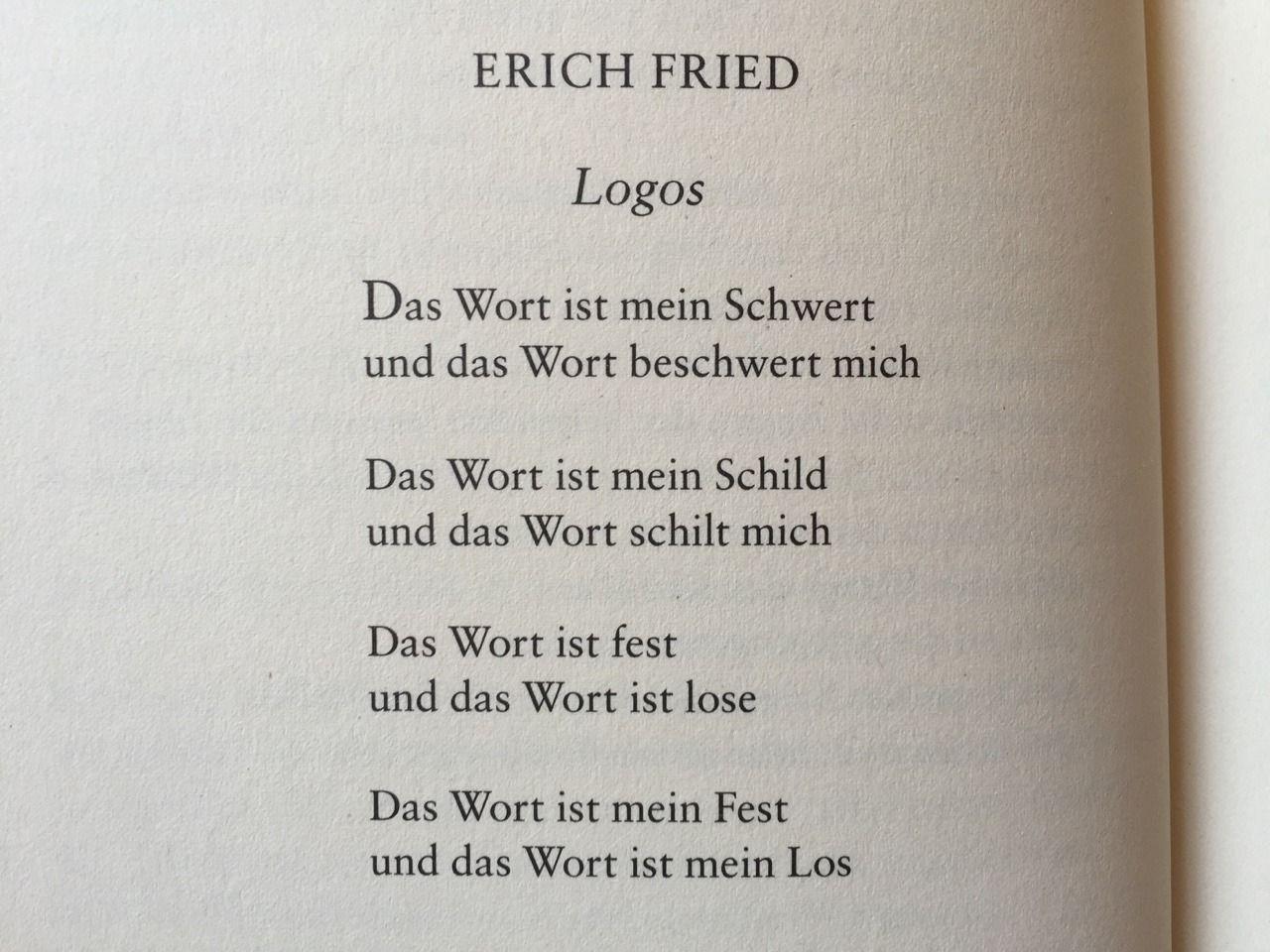 Deutsche Lyrik von damals und heute — gedichteausderwelt