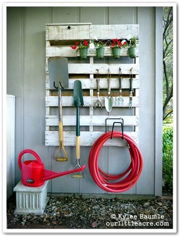 Clever Use For Old Pallet Repurpose Into This Neat Garden