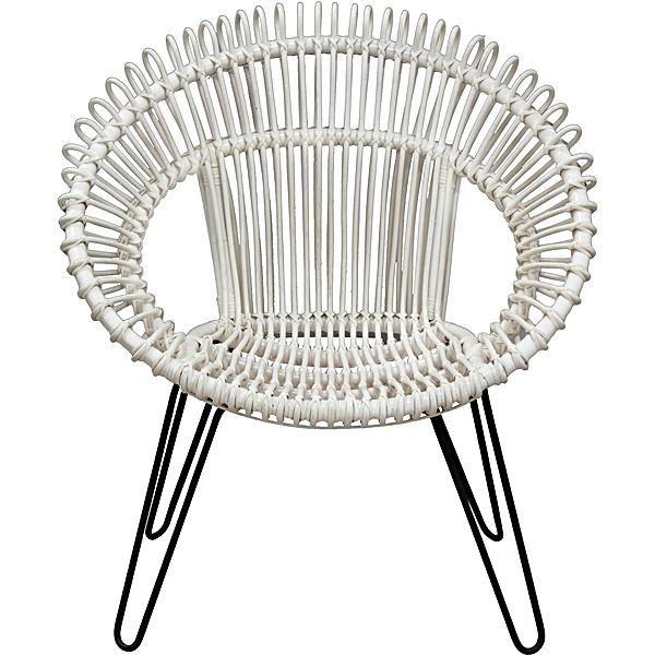 Coastal | Zanui | Rattan armchair, Rattan dining chairs, Chair