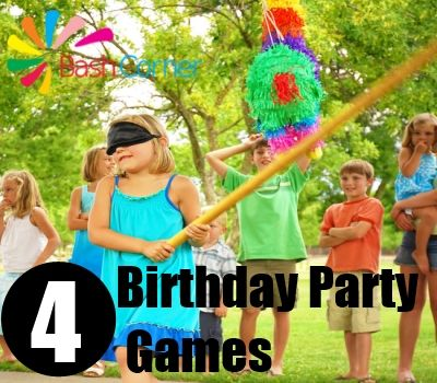 Birthday Party Games For 5 7 Year Olds Birthday Party