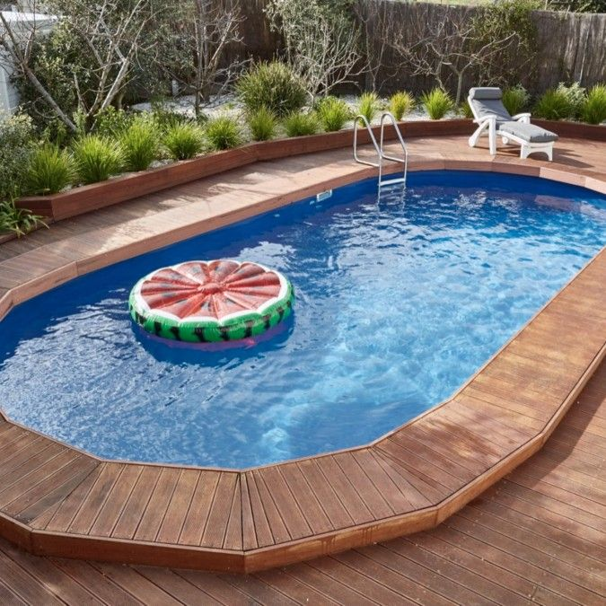 The Clark Sunsoka Resin Pool |Clark Rubber | outdoor living in 2019 ...