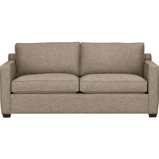 Davis Queen Sleeper Sofa In Sofas Crate And Barrel A