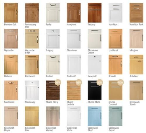 Awesome Various Designs And Colors For Kitchen Cupboard