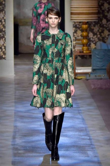 London Fashion Week FW 2015-2016   Erdem #catwalk #LFW #London #silkgiftmilan