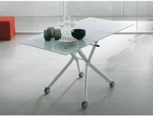 Tavoli Pieghevoli Con Ruote.Pesaro Tavolo Pieghevole Tavoli In Metallo E Tavolo Moderno